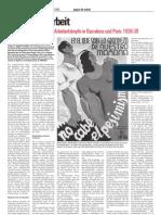 Gegen die Arbeit - Michael Seidman über die Arbeiterkämpfe in Barcelona und Paris, 1936-38