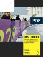 amnesty international comparative rape law analysis in the nordic countries 2010