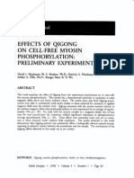 Effects of Qigong on Cell-free Myosin Phosphorylation - Preliminary Experiments