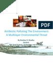 Antibiotic Polluting Environment by DBKhadka