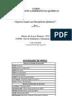 Aspectos legais nas Emergências Químicas