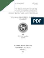 Review Buku Metode Penelitian Kualitatif