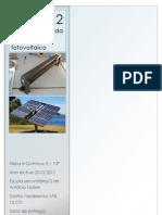 Energia Fornecida Por Um Painel Fotovoltaico