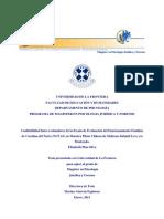 Confiabilidad Inter-evaluadores de la Escala de Evaluación del Funcionamiento Familiar