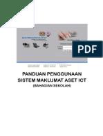 Panduan Penggunaan Sistem Maklumat Aset ICT