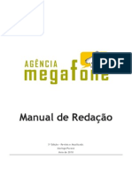 Manual Agencia Megafone Quarto Ano 2010 Ok