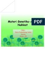 Materi Genetika-Asam Nukleat by Heru Pralambang I.I