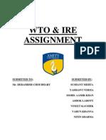 WTO EXIM VS FTP