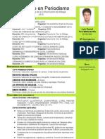 CV Daniel Tore Con Master y Posgrado