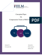 Conceptual Paper on Compensation Trends in FMCG Sector