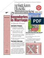 Boundaries in Marriage_Summary of the Book