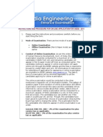 Instructions and Procedure for Aieee