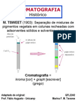 cromatografia teoria