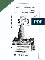 Area Handbook - Iraq