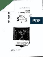 Area Handbook - Israel
