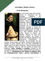 S. Alberto Magno, Obispo y Doctor. 15 Noviembre