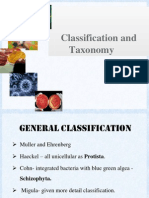 Classificaton and Taxonomy of Microbes