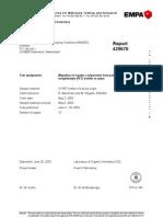 Report EMPA