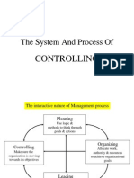 The System and Process of Controlling MBA 11