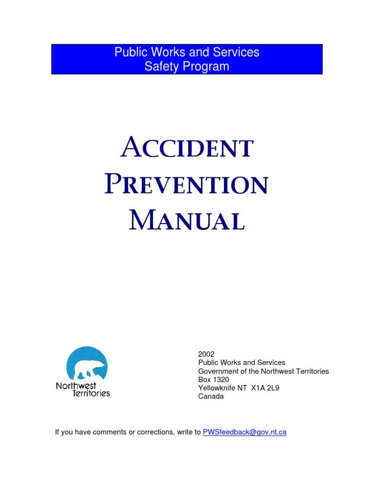 california public works manual