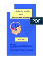 Nlp Incredible Powers of Your Brain PDF