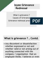 Employee Grievance Redressal