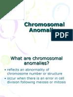 Chromosomal Anomalies