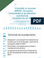 Juan Manuel Fontanet - Garantizando el acceso a medicamentos huérfanos