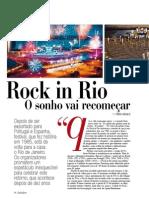 Especial Rock in Rio - Revista ZZZ