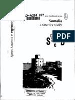 Area Handbook - Somalia