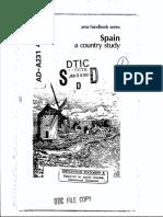 Area Handbook - Spain
