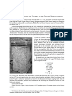 Eck, W., Ivanov, R., Zwei Votivinschriften aus Ratiaria in der Provinz Moesia Superior.
