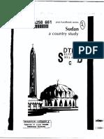 Area Handbook - Sudan