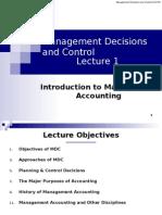 MDC Lecture 1