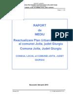 Raport de Mediu Joita