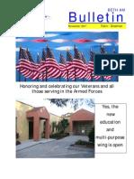 November 2011 Bulletin