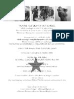 Famine Flyer