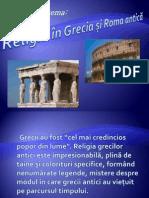 RELIGIA GRECIEI SI ROMEI ANTICE