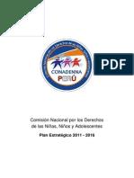 Plan Estratégico CONADENNA 2011-2016