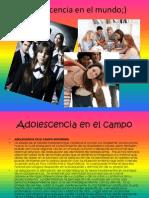 Adolescencia en El Mundo