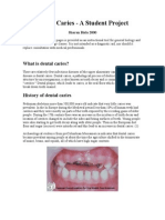 Dental Caries Student Project