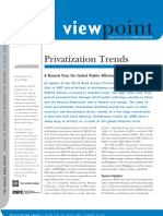 Privatization Trends