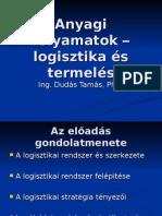 Anyagi Folyamatok – Logisztika és Termelés