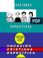 vocaciones especificas