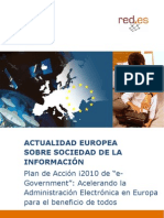 "Plan de Acción i2010 de ""e-Government"""