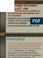 Standing Order Act