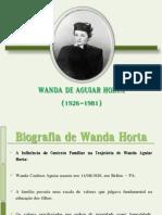 Wanda de Aguiar Horta Trabalho Pronto