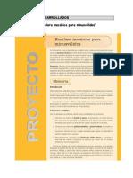 PROYECTOS DESARROLLADOS 3º ESO[1]