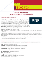 Sport Flyer 2011 12