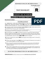 Gs Mock Test